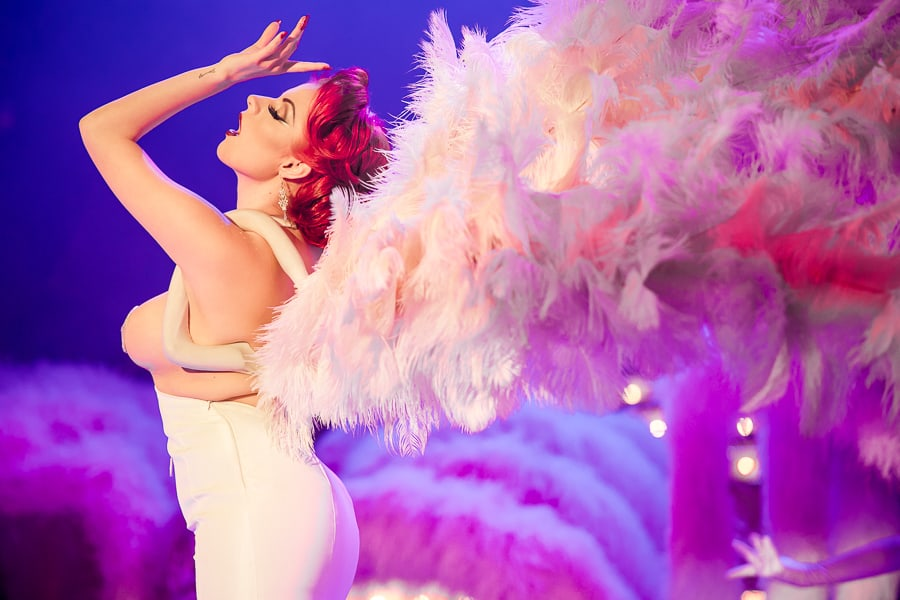 Booked our burlesque showgirls for your Vegas themed entertainment. Available in the UK
