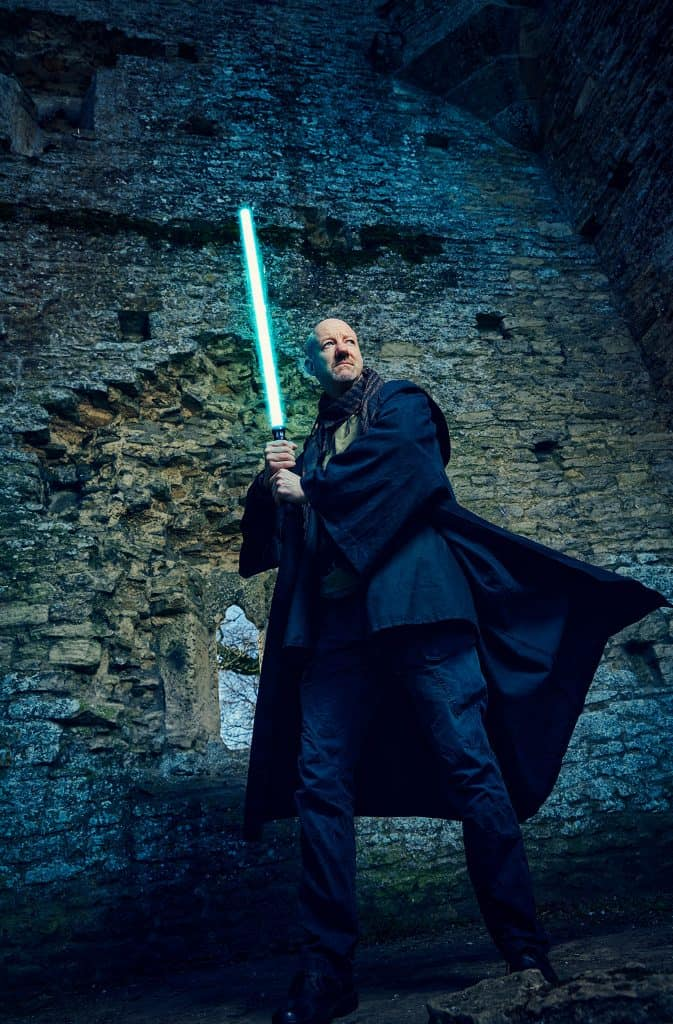 The UK's only Star Wars Jedi magician.