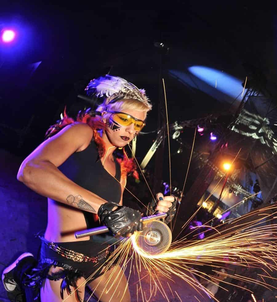 Fire performers for hire. Book our fire shows for corporate events in the UK & London.