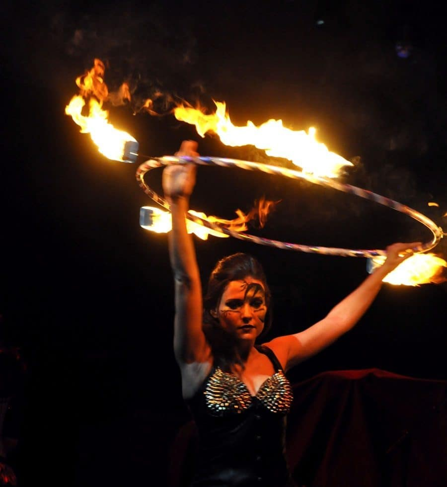Fire shows for hire. Our fire performers are available to book for nightclub events in London & the UK.