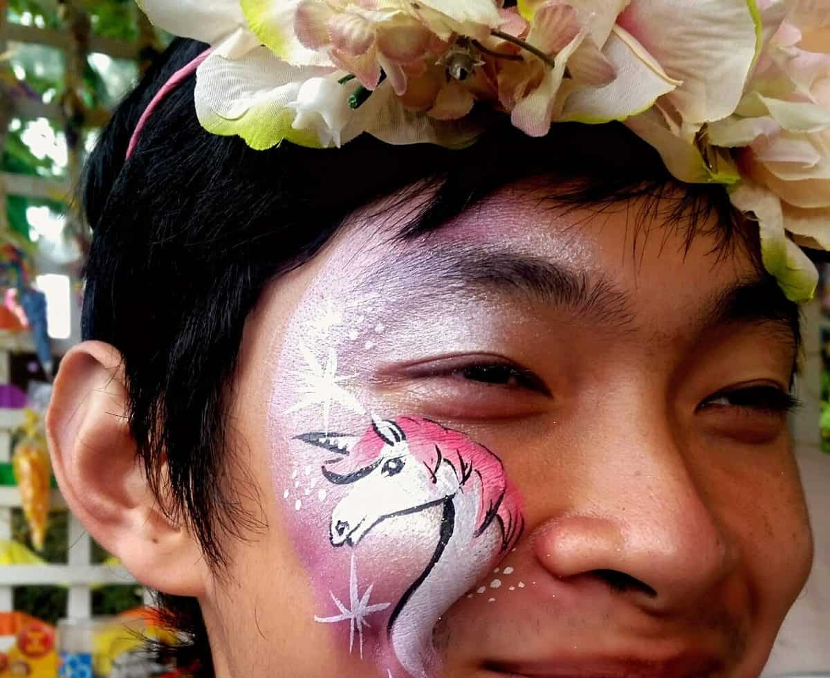 Unique face painting services for family fun days in the UK.