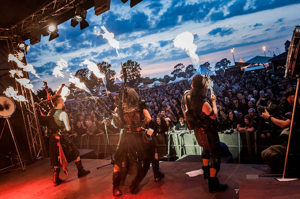 Bagpipe Rock Band for Hire - Musicians - UK