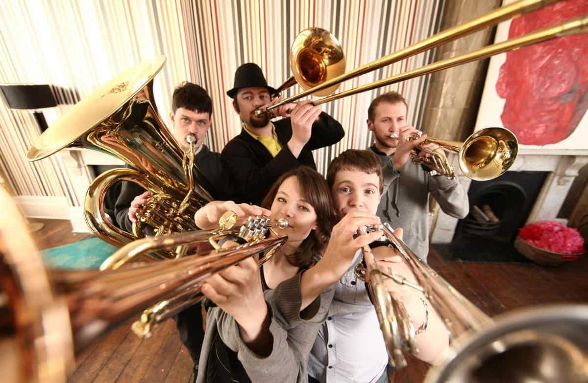 London-based Bavarian brass band for hire. Book our brass quintet for corporate or private events in the UK.
