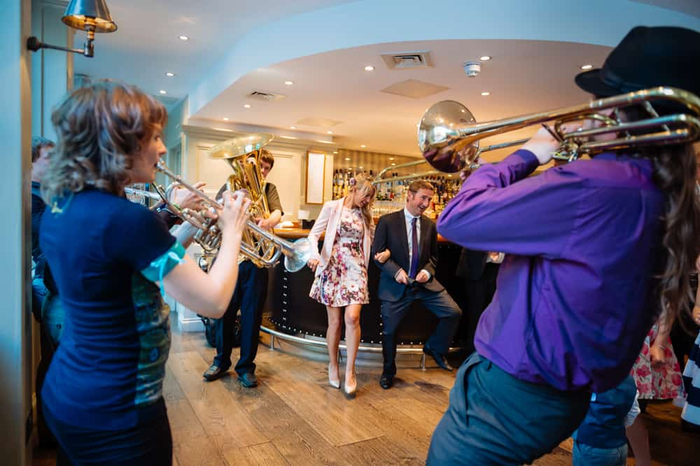 Book our Bavarian Oompah band for gala dinners in London.