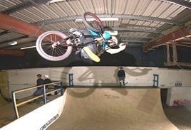 BMX enetrtainers and ramp shaw for event hire in London and the UK