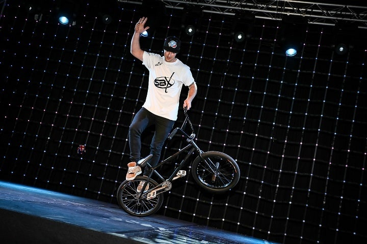 BMX stage show and performers for hire