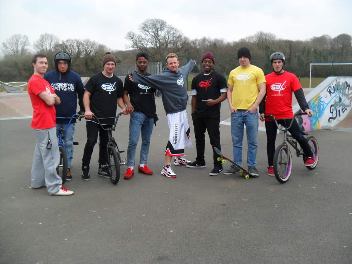 BMX entertainers and show performers for event hire in London and the UK