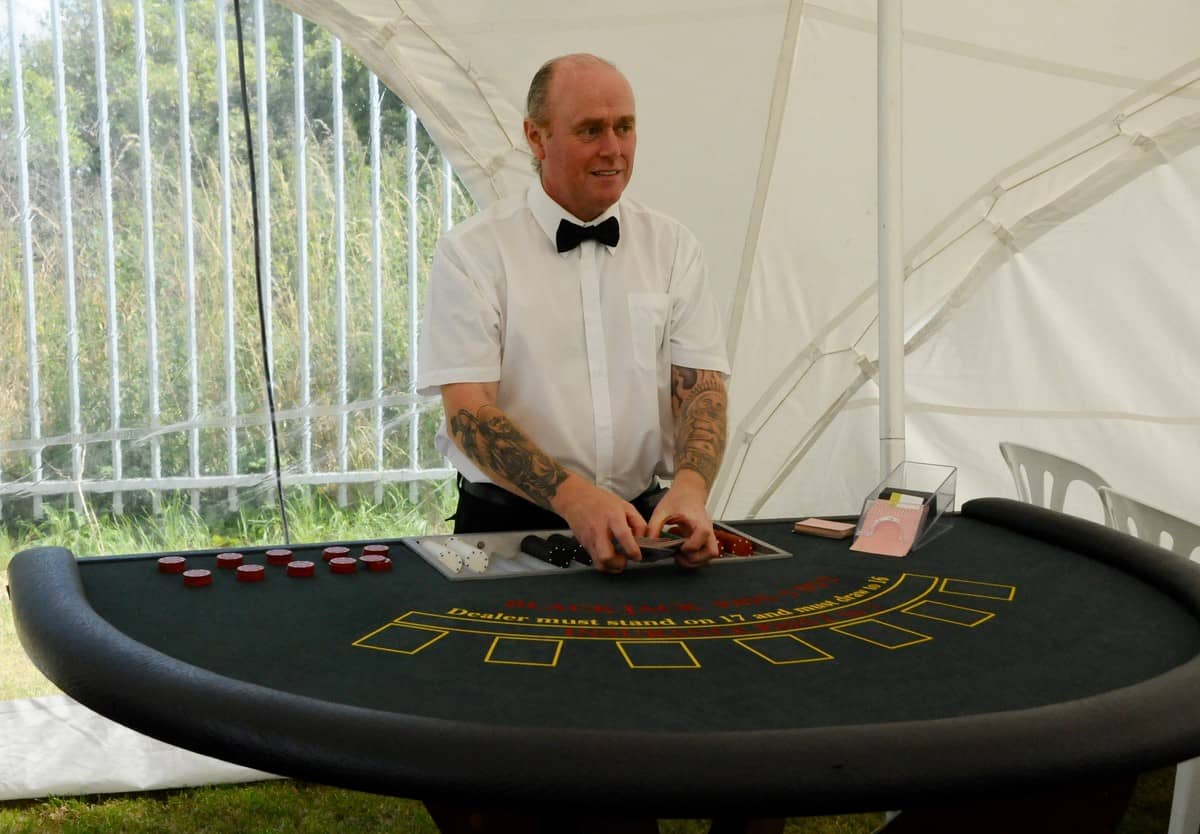 Book our Mobile Casino Table is available for hire for corporate events in London & the UK.