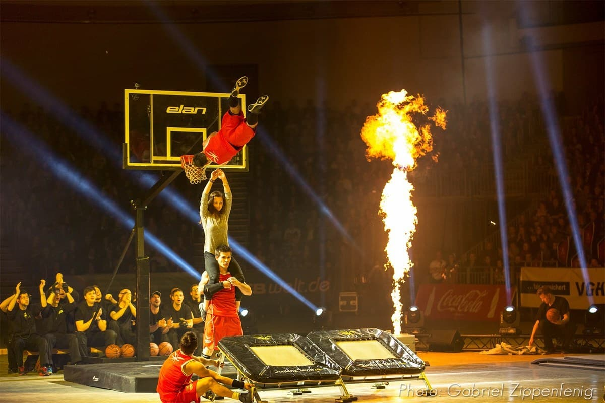 Unusual basketball show to book for weddings in London and the UK