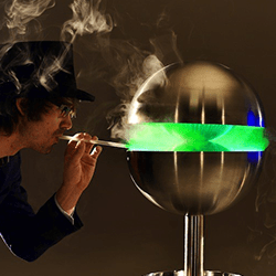 Edible mist machines available to hire for weddings in London and the UK.