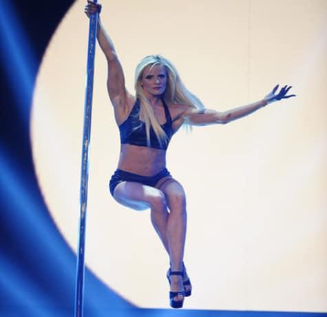 Flying Pole acrobatic pole dancing