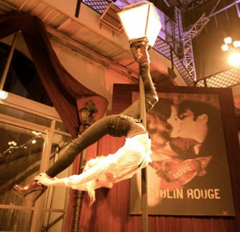 The Street Light Pole Act is available to book in London & the UK. Hire our pole acrobats for your corporate event.