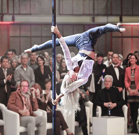 Hire our Street Light Pole Dancing act for your event in London & the UK.
