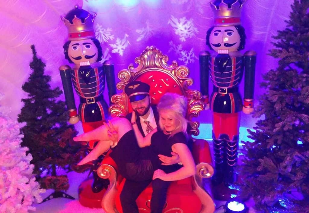 Our Christmas themed photo booth is available to hire for your corporate event, private party or product launch in London & the UK.
