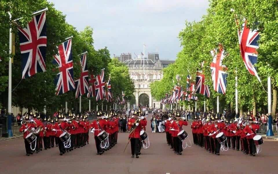 British marching band for hire. Our Marching band can be hired in London and the UK.
