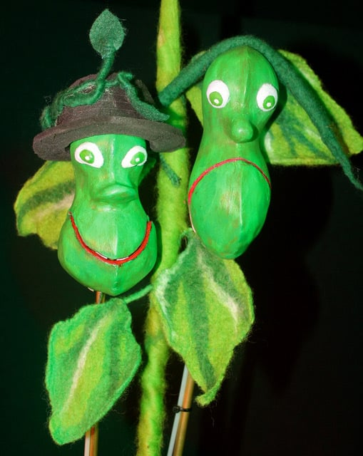Jack & the Chatty Beans Puppet Show for hire. Book our children's puppet show for children's parties or events in London & the UK.