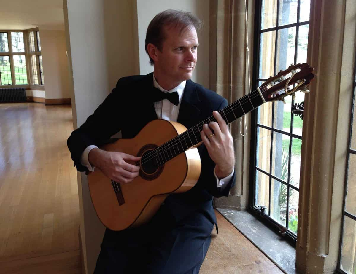 Hire our classical guitarist, Jon the Pick, for your wedding in London & the UK.