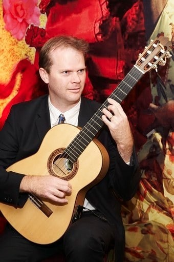Book our Spanish Flamenco guitarist for private parties in Somerset.