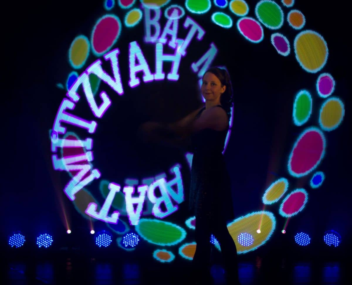 LED Poi Jugglers for hire. Our LED Poi dancers are available to book for brand activations in London & the UK.