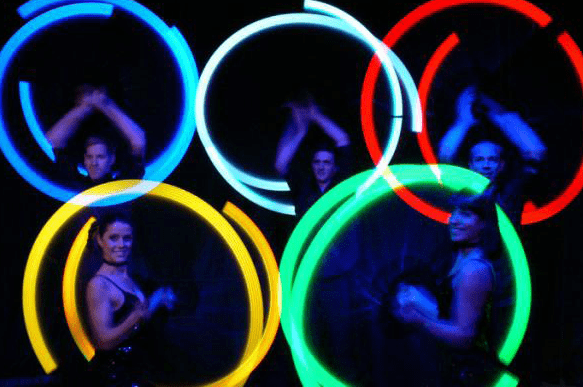 Book our Olympic Poi dancers for your event. Our Olympic Poi dancers are available for hire in London and around the UK.