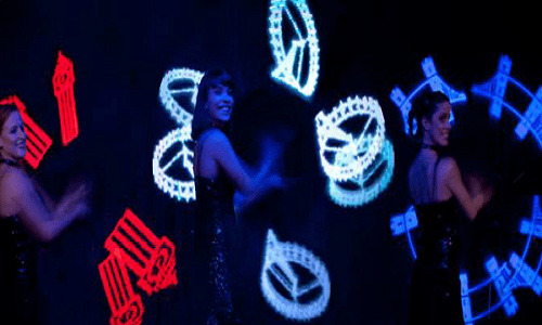 Book Olympic LED dance for your event. Our LED performers are available for hire in London and around the UK.