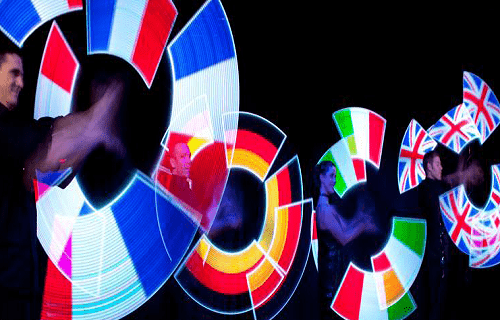 Book our LED Poi for your event. Our LED Poi performers are available for hire in London and around the UK.