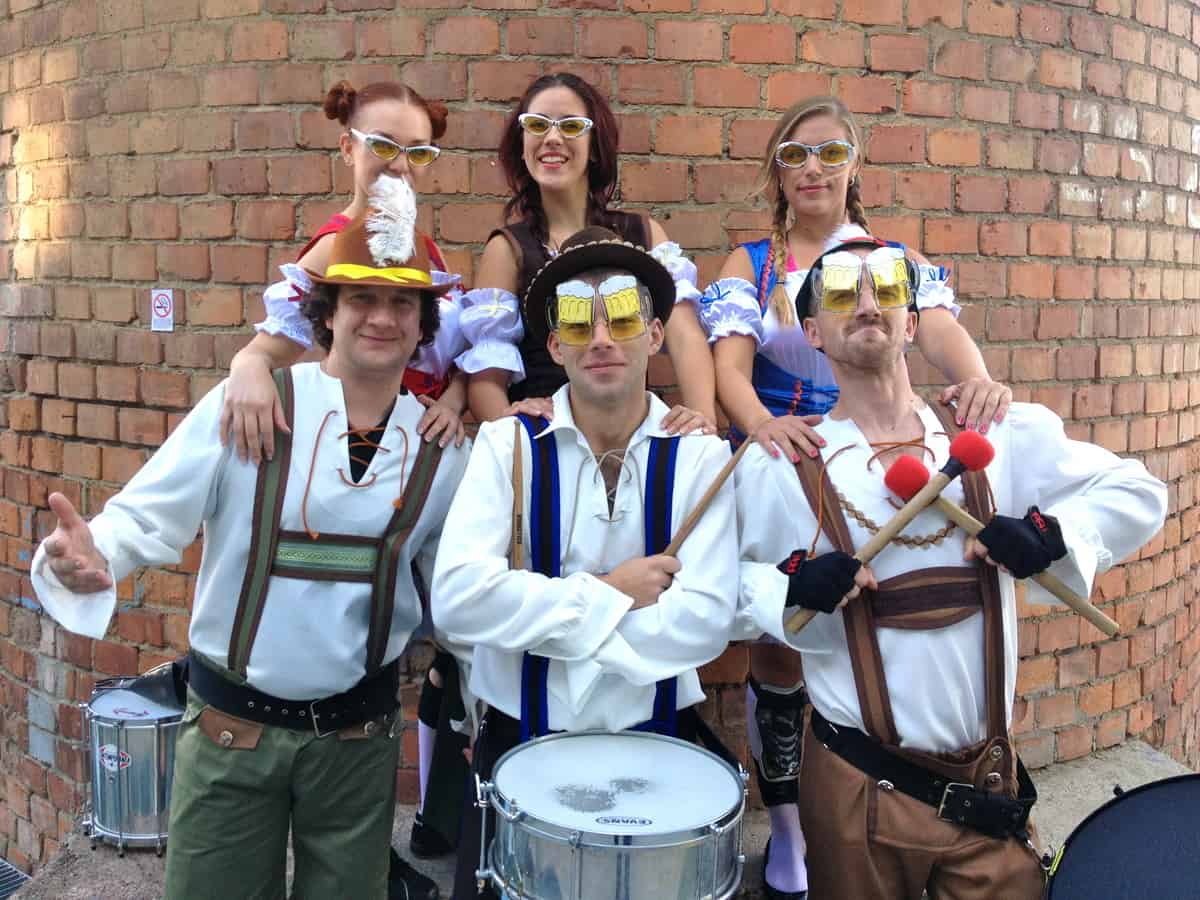 Book our Germany themed walkabout music acts. You can book these performers for shows and events in the UK.