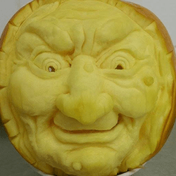 Pumpkin artist for hire for corporate events in London and the UK