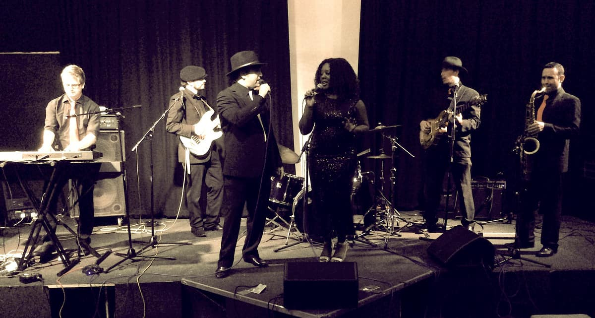 Swing Band for hire. The Rhythm of London Band is available to book for award ceremonies in the UK & London.