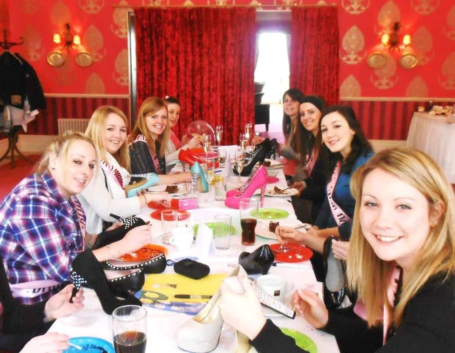 Hen party activity for hire in London and the, Shoe design workshops.