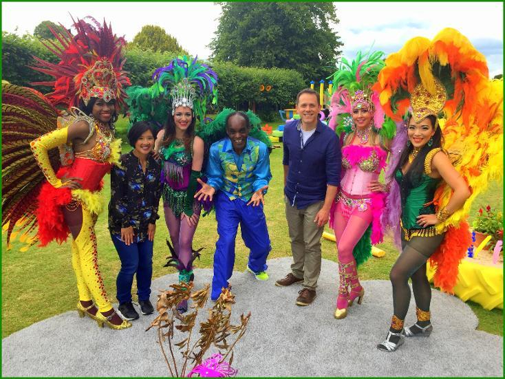 Carnival dancers for hire. Our samba dancers are perfect for events and parties.