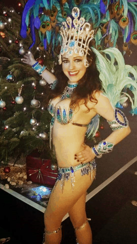 Rio themed entertainers for hire. Our Samba dancers will bring the spirit of the carnival to your event.