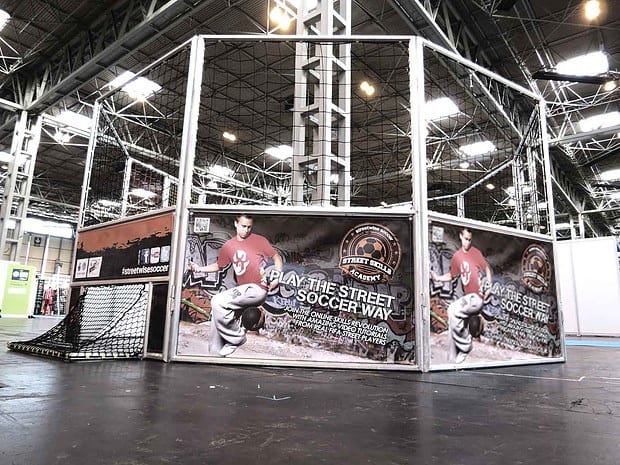Book our football cages for your sports event. You can hire our football cages in the UK.