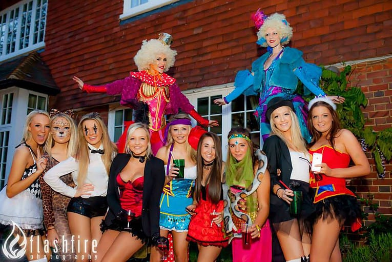 Circus entertainment for private events in the UK.