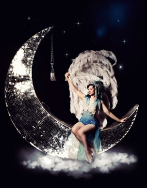 Burlesque Dancer available in London and UK. Our professional dancer is available for hire.