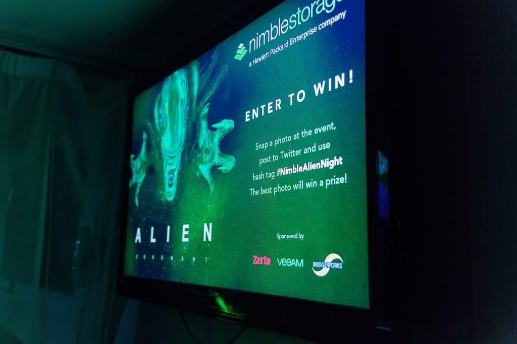 Alien Movie Film Screening event.