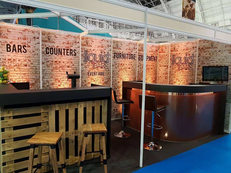 Event Pallet Bar available to hire for private and corporate clients in Milton Keynes and across the UK.