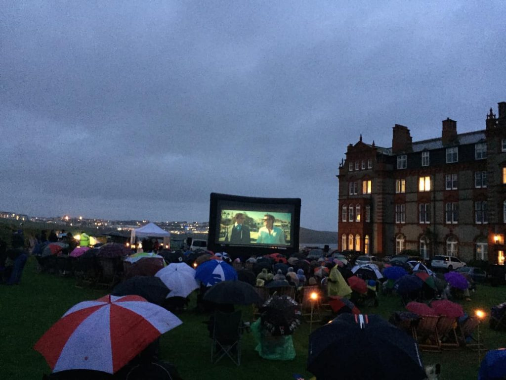 Mobile Outdoor Cinema Hire available for Outdoor Events and more across the UK.