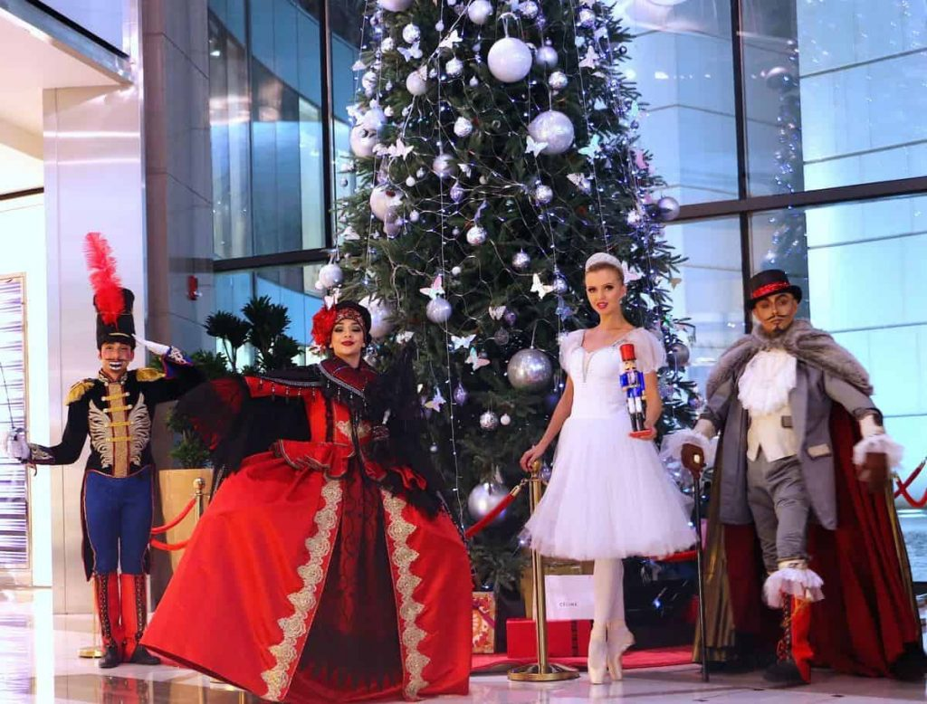 Hire our nutcracker Christmas show available in the UK and Globally