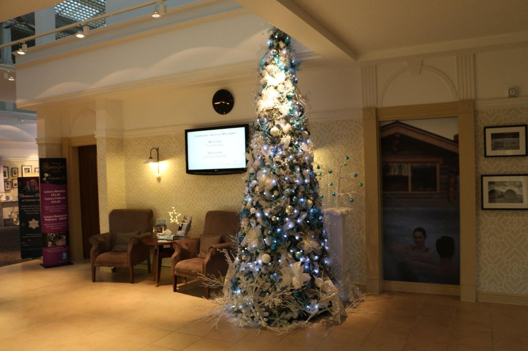 Luxury Blue And Silver Christmas Tree Designs Seasonal Decor