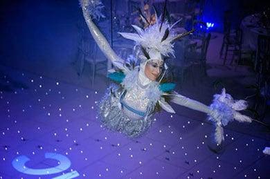 Arctic Wonderland Acrobatic Show Hire - Circus Show - London, UK