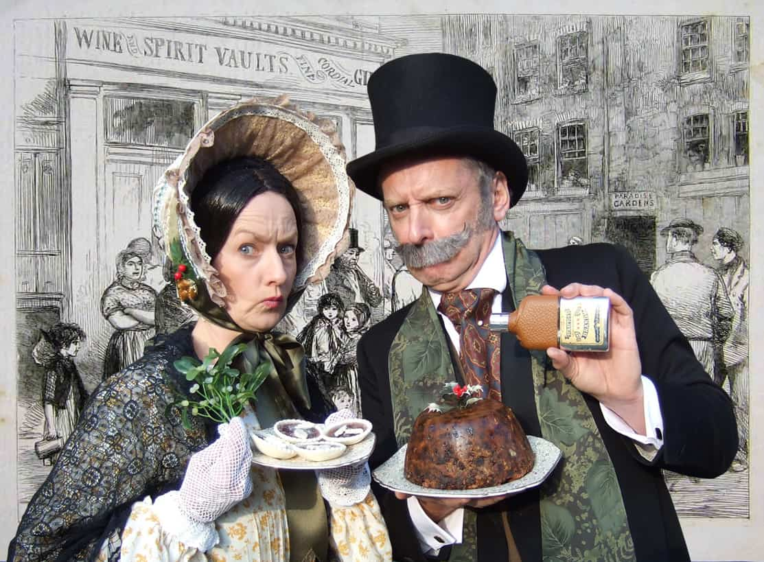 The Austerity Association for hire. Book Victorian-themed entertainment for Christmas-themed events in London & the UK.