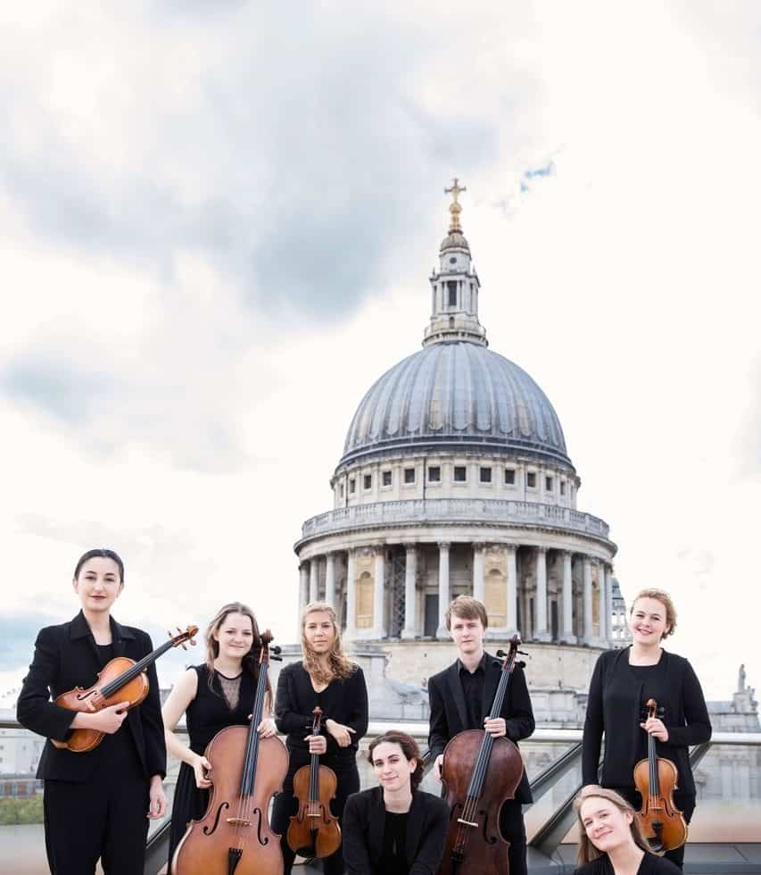 Classically trained string ensemble for hire. Book our professional string quartet for award ceremonies, gala dinners or weddings in London & the UK.