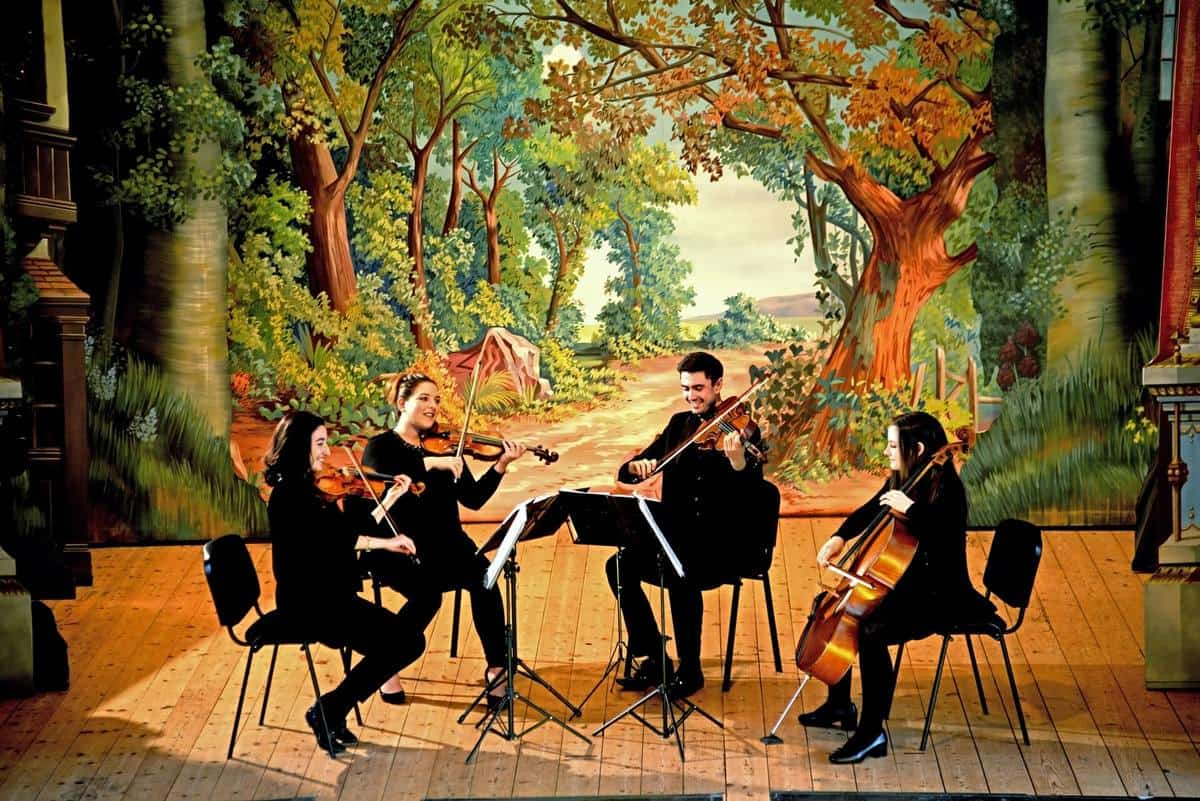 Professional string quartet for hire for corporate events in London & the UK.