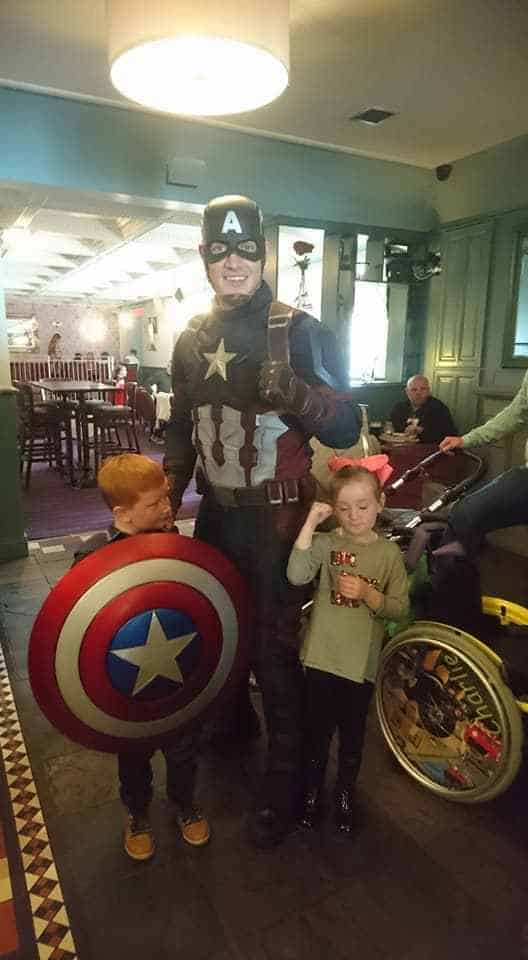 Superhero themed entertainment available to hire for family fun days in London and the UK.