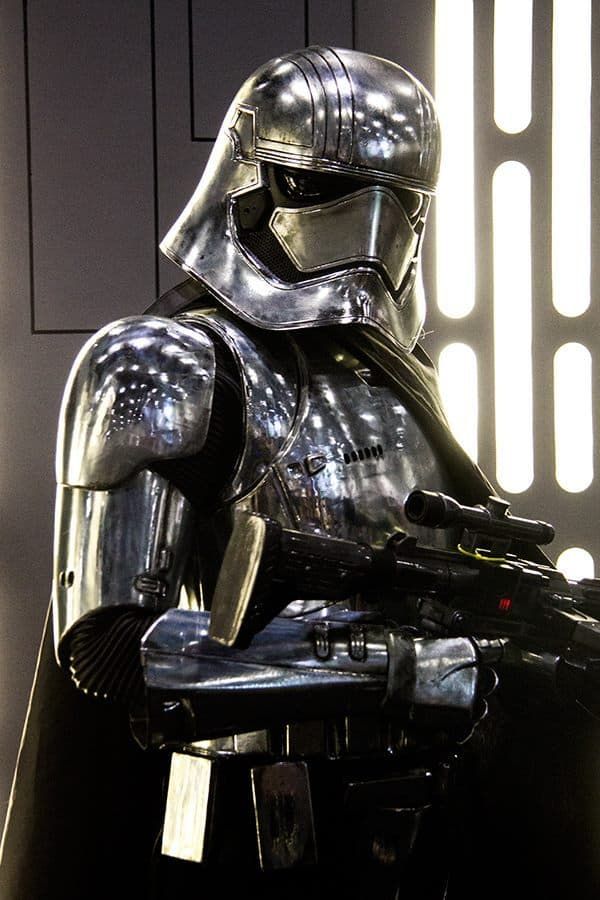 Captain Phasma Lookalike for hire. Our Captain Phasma is available to book for Star Wars-themed events in London & the UK.