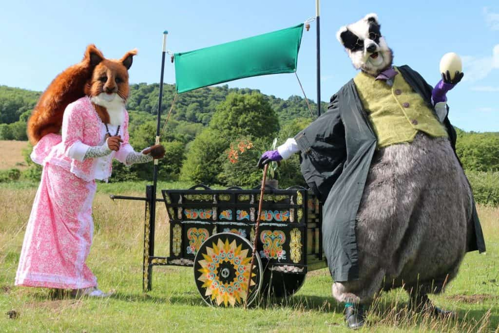UK-based interactive street theatre show available to book for family fun days in the UK.