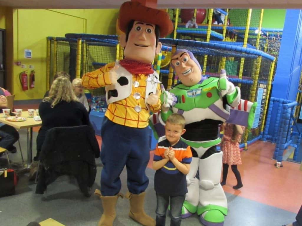 Book our Toy Story Sheriff Woody Character for your wild west themed event in the UK.