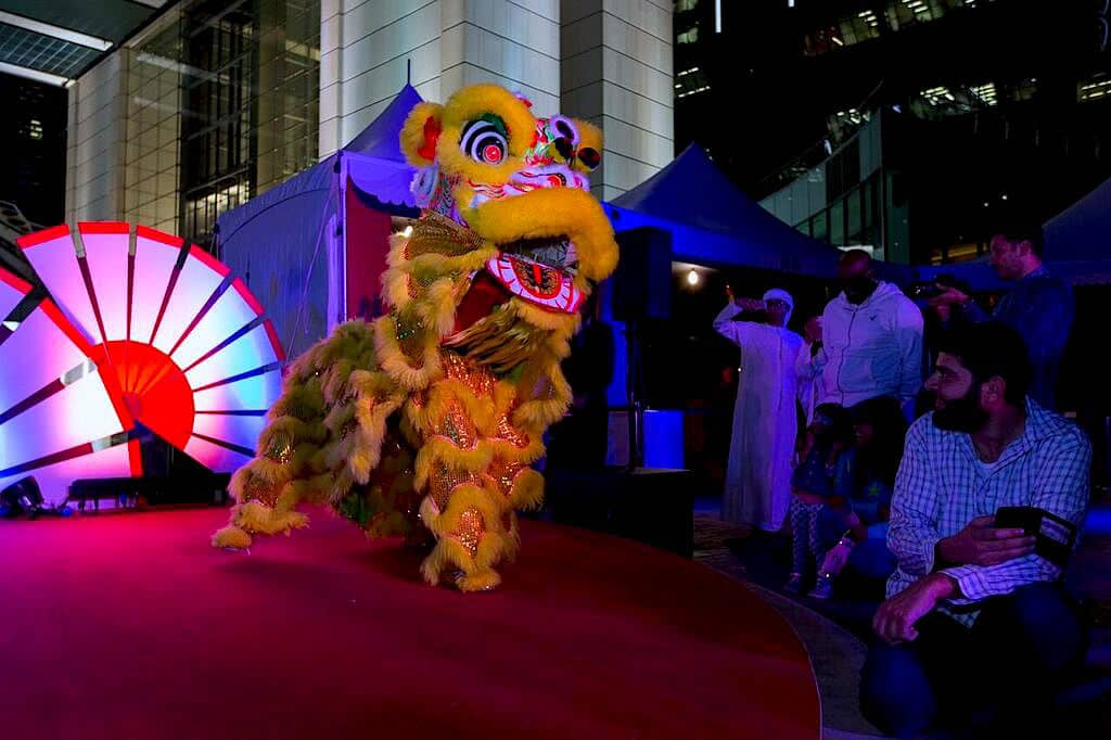 Lion Dancer for hire in London and the UK.