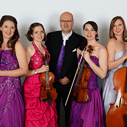 Hire our string quartet for weddings in London and the UK